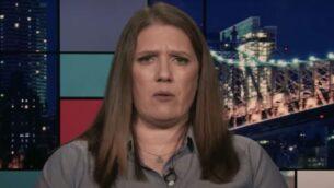 ماري ترامب، ابنة شقيق الرئيس الأمريكي دونالد ترامب، في مقابلة مع راشيل ماددو من قناة MSNBC الأمريكية، 16 يوليو 2020. (Screen capture: YouTube)