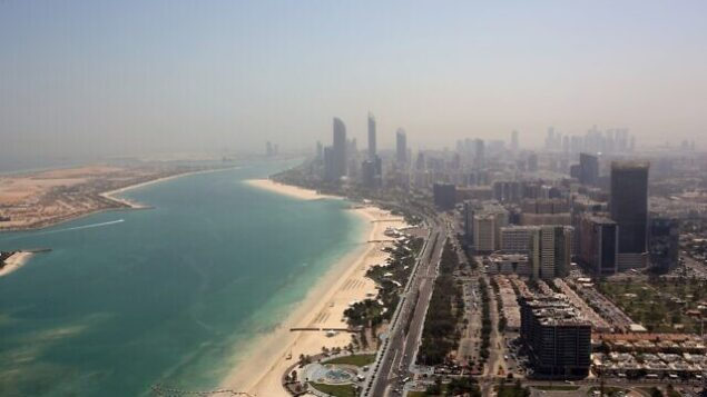 من الأرشيف: صورة لأبو ظبي، الإمارات الإمارات العربية المتحدة. (AP Photo / Kamran Jebreili)
