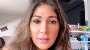 المدونة والصحفية اللبنانية ديما صادق. (video screenshot)