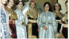 Noche de Berberisca في تطوان ، المغرب ، في السبعينيات.  . (Credit: KHOYA Collection – Jewish Morocco Sound Archive)