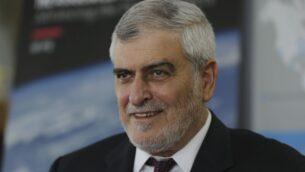 دوف كوتلر، الرئيس التنفيذي لـ'بنك هبوعليم' الإسرائيلي، في دبي، الإمارات العربية المتحدة، 9 سبتمبر 2020 (AP Photo / Kamran Jebreili)