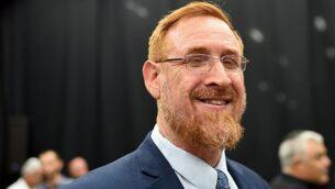 عضو الكنيست عن حزب الليكود يهودا غليك في تل أبيب، 6 سبتمبر، 2018. (Gili Yaari / FLASH90)