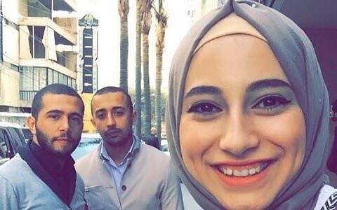الفلسطينية من سكان القدس الشرقية ياسمين جابر، التي اعتقلت بتهمة التجسس لصالح حزب الله (Shin Bet)