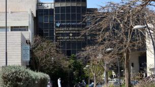 مستشفى لنيادو، الذي يُعرف أيضا باسم المركز الطبي تسانز، في كريات تسانز بمدينة نتانيا الساحلية، 26 مارس، 2020.  (Gili Yaari / Flash90)