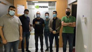 مهندسون فلسطينيون قامت شركة Nvidia بتوظيفهم. (Courtesy)