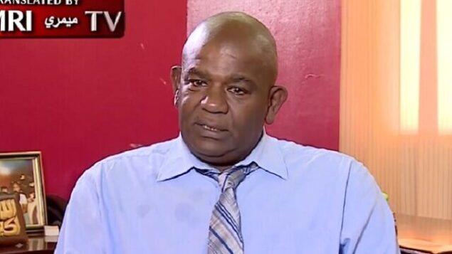 النائب السوداني السابق أبو القاسم برطم في مقابلة مع شبكة 'العربية' الإخبارية، 12 أكتوبر، 2020. (Screengrab: memri.org)