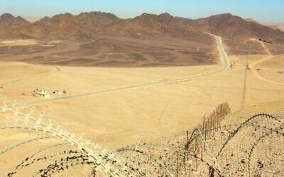 حدود اسرائيل مع شبه جزيرة سيناء (Public domain/Wilson44691/Wikimedia commons)