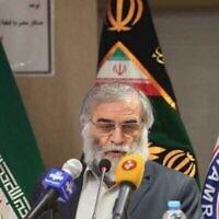 محسن فخري زادة (Agencies)