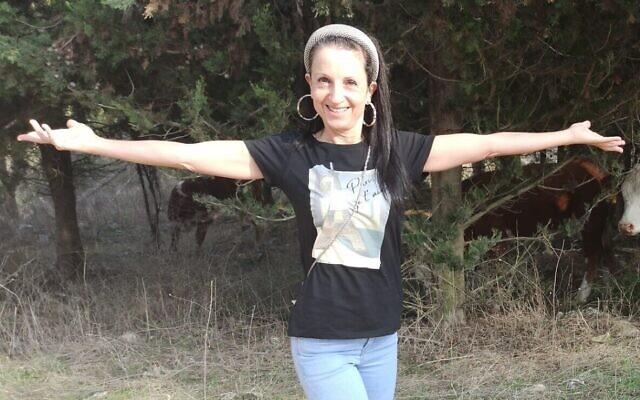استير هورغان (52 عاما)، التي تم العثور جثمانها في شمال الضفة الغربية بعد اعتداء مشتبه به، 20 ديسمبر 2020 (Courtesy)