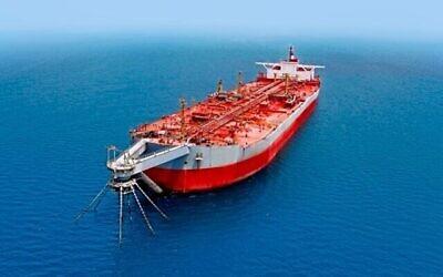 """ناقلة النفط """"صافر"""" في صورة غير مؤرخة.  (Courtesy: Safer Exploration and Production Operations)"""