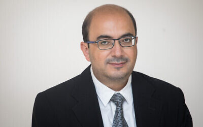 عضو الكنيست عن القائمة المشتركة، سامي ابو شحادة، 25 سبتمبر، 2019. (Hadas Parush/Flash90)