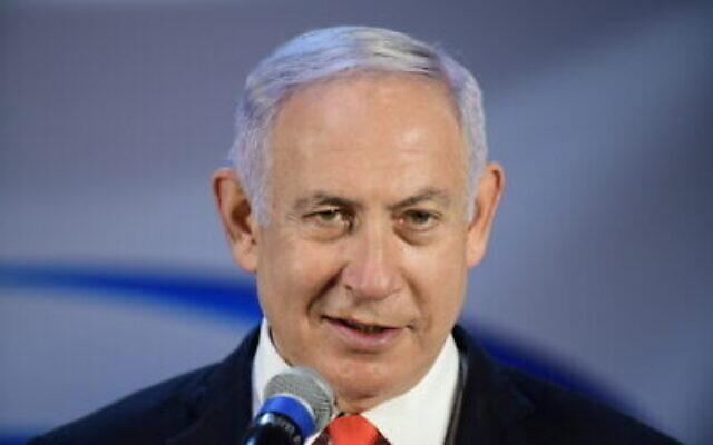 رئيس الوزراء بنيامين نتنياهو (Tomer Neuberg / Flash90)