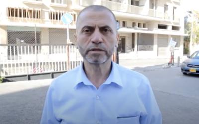سليمان اغبارية رئيس بلدية ام الفحم السابق (screenshot)