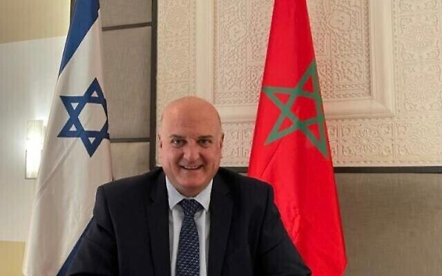 القائم بالأعمال الإسرائيلي الجديد لدى المغرب دافيد غوفرين (Courtesy)