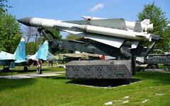 صاروخ SA-5 معروض في متحف سلاح الجو الأوكراني (George Chernilevsky / Wikimedia / CC BY-SA 3.0)