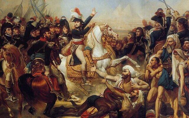 حملة نابليون في مصر وسوريا (Antoine-Jean Gros, Wikimedia Commons)