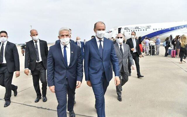 وزير خارجية إسرائيل يائير لبيد يصل الأربعاء 11 أغسطس إلى الرباط في زيارة رسمية (وزارة الخارجية)