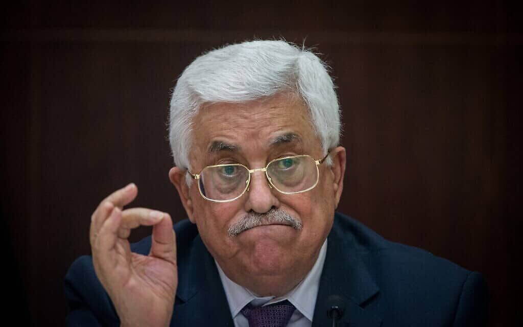محمود عباس (Yonatan Sindel/Flash90)