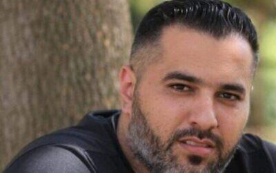 جهاد حمود، الذي قُتل في بلدة دير حنا في 14 أكتوبر، 2021. (Courtesy)