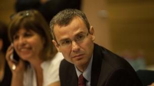 عضو الكنيست ياريف ليفين 2012 (فلاش 90)