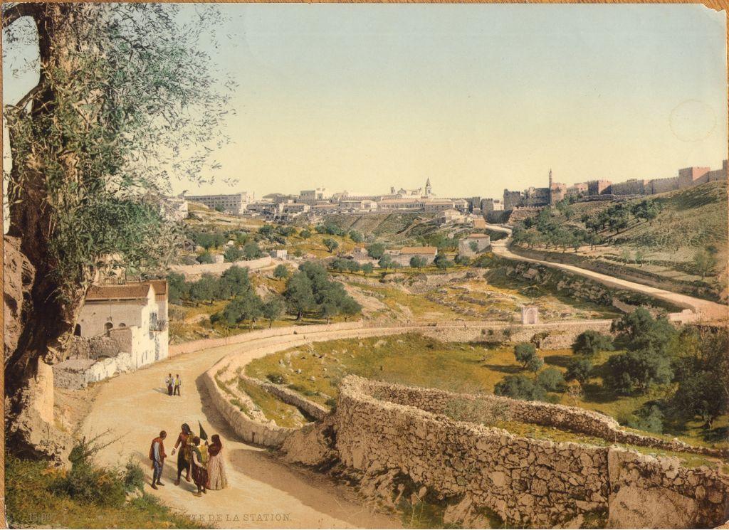 القدس من الجهة الجنوبية الغربية ( photo credit: © DEIAHL, Jerusalem)
