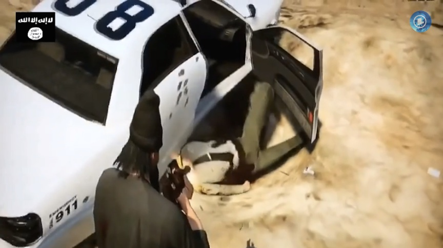 Scene from the Jihad Simulator trailer (YouTube screenshot)