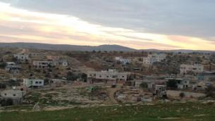 القرية الفلسطينية ديرات، جنوب الضفة الغربية 22 ديسمبر 2014 (بعدسة الحانان ميلر)