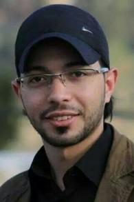 رئيس الطاقم الطبي احمد شحادة من مخيم اللاجئين شعفاط (Courtesy/Peace Emergency Team