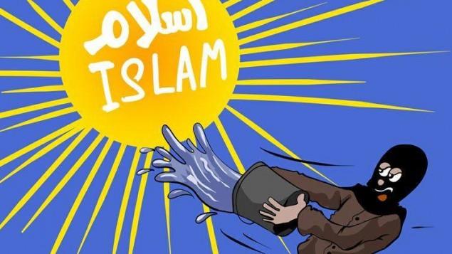 كاريكاتير للفنان محمد سباعنة Facebook image