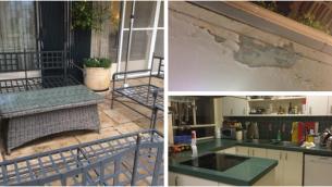 صور لمنزل رئيس الوزراء بنيامين نتنياهو من اجتماع لقادة حزب الليكود في 11 فبراير 2015 تم تسريبها لإذاعة الجيش (Screen capture: Ido Benjabi/Army Radio Twitter)