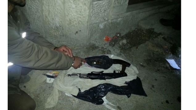 اسلحها تم العثور عليها خلال تحقيق للشاباك (Shin Bet)