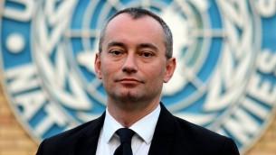 المنسق الخاص الجديد للامم المتحدة في الشرق الاوسط نيكولاي ملادينوف (CC BY-SA Ottokars, Wikipedia)