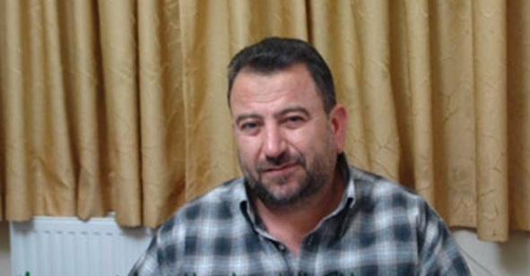 ناشط حماس صالح العاروري (لقطة شاشة من YouTube)