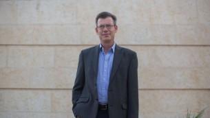 الناطق باسم وزارة الخارجية عمانويل نحشون، 1 سبتمبر 2014 (Yonatan Sindel/Flash90)