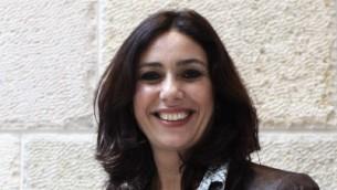 وزيرة الثقافة والرياضة ميري ريجيف، 17 مايو 2015 (Kobi Gideon / Flash90)