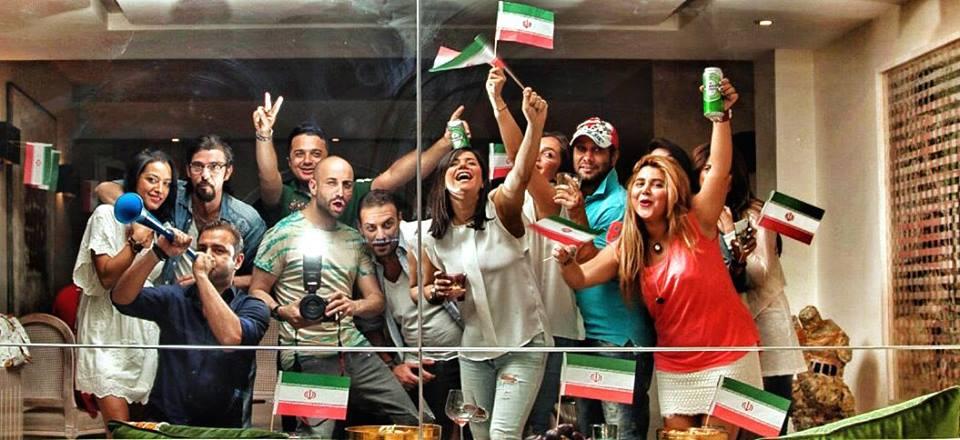 اعضاء السفارة الإيرانية في القدس (Facebook)