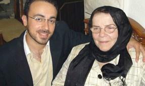 مارك حلاوة وجدته رويدة في حدث عائلي في الاردن (courtesy)