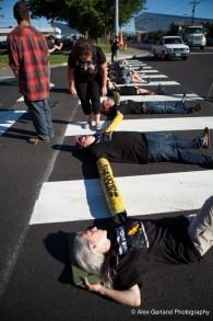 """العديد من مظاهرات """"صوت يهودي للسلام"""" تدعو للمقاطعة (Alex Garland Photography)"""