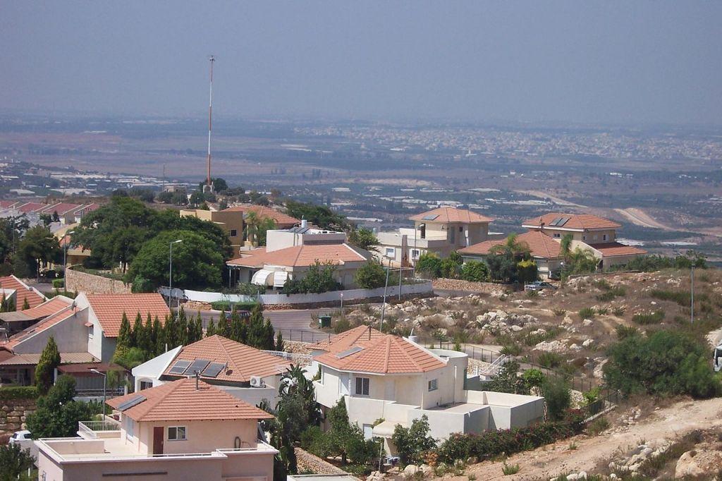 مستوطنة 'الفي ميناشي' في الضفة الغربية (Wikimedia Commons/Jonathan Schilling/CC BY-SA 3.0)