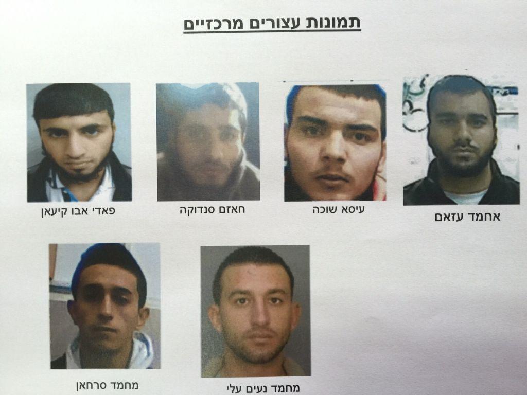 المشتبهين المركزيين الذين اعتقلهم الشاباك بتهمة التخطيط لتنفيذ عمليات انتحارية وهجمات اخرى في اسرائيل والضفة الغربية (Shin Bet)