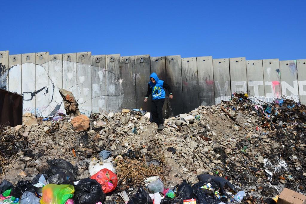 جدار الفصل الإسرائيلي في الضفة الغربية