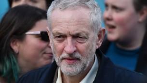 زعيم حزب 'العمال' البريطاني المعارض جيريمي كوربين، 26 أبريل، 2016. (AFP PHOTO / BEN STANSALL)