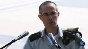 المدعي العسكري العام الجنرال شارون افيك (IDF Spokesperson's Unit)