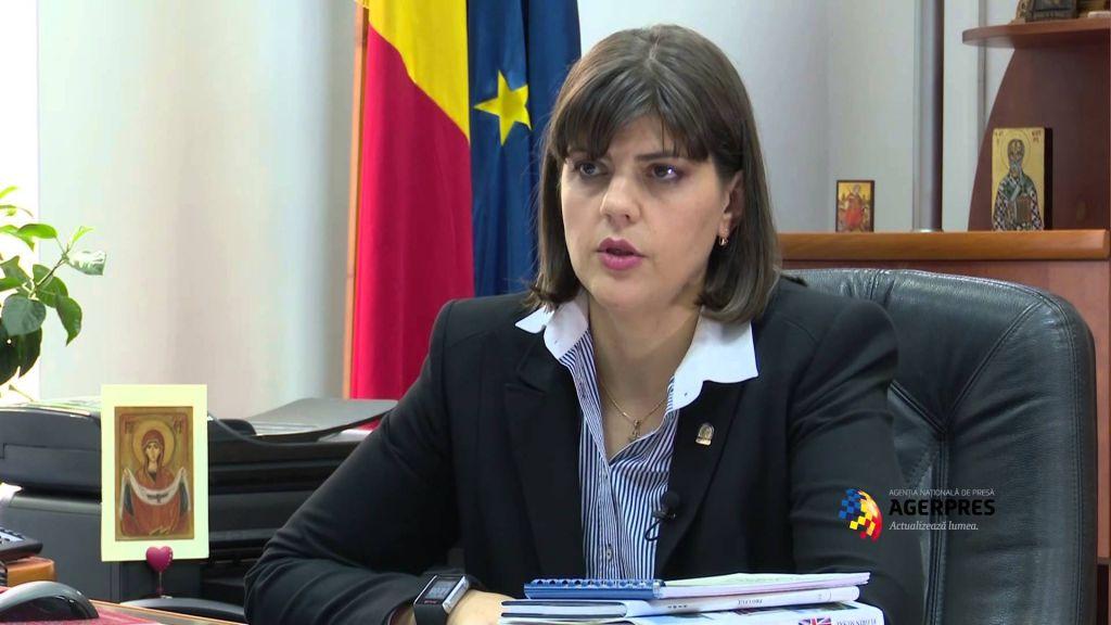 المدعية العامة الرومانية الرئيسية بقضايا الفساد بورا كودروتا كوفيسي (screen capture: YouTube)