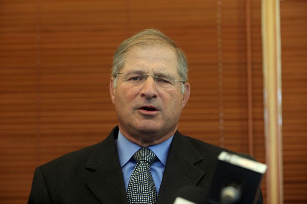 دافيد شيمرون، محامي رئيس الوزراء بنيامين نتنياهو (Kobi Gideon/Flash90)