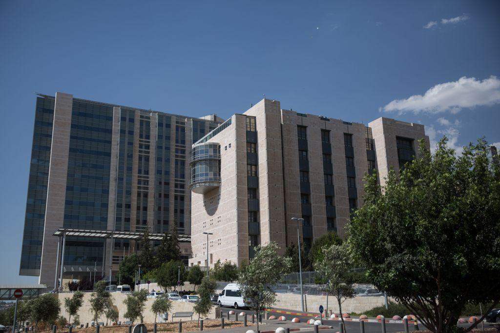مستشفى هداسا عين كارم في القدس، 29 مايو 2017 (Hadas Parush/Flash90)