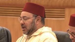 ملك المغرب محمد السادس عام 2016 (YouTube screenshot)