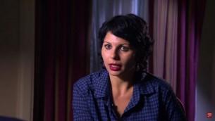 ميسلون حمود، مخرجة 'بر بحر،' نوفمبر 2016. (Screen capture: YouTube)