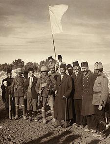 استسلام العثمانيين في القدس، 1917 (Public domain)