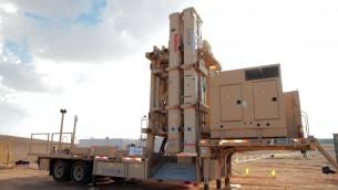 نظام مقلاع داود للدفاع الصاروخي (IDF Spokesperson's Unit)